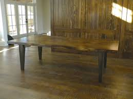 Hand Made Large Slab Dining Table By North Texas Wood Works