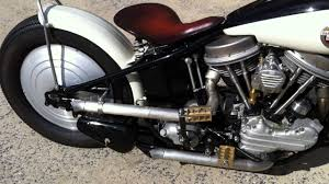 1957 harley davidson panhead custom youtube