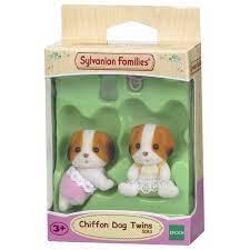 Sylvanian Families Cặp Em Bé Chó Tai Vàng Sinh Đôi Cliffon Dog Twins chính  hãng 190,000đ