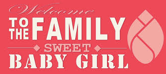 Welcoming Baby Girl Welcome Baby Girl Blinknow