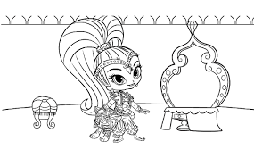So print and share our shimmer and shine coloring pages with your family and friends. Shimmer And Shine Coloring Pages Best Coloring Pages For Kids