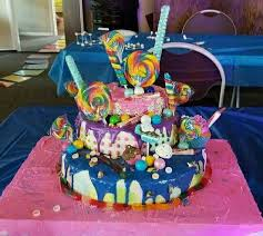 Daddy Daughter Candy Mess Cake Crystals Coture Cakes Cake
