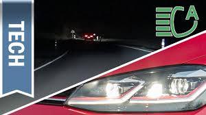 Dynamic Light Assist Volkswagen Dynamic Light Assist Im Golf Vii Active Lighting System Led Scheinwerfer
