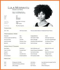Actor Resume Inspiration Sample Actor Resume Inspirational Actor Resume Sample Reference Of