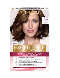 Loreal Hair Color Chart Prices Golden Brown Hair Colour 5 3 Natural Golden Brown