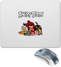"""Коврик для мышки """"<b>Angry Birds</b>"""" #2524701 от ZoZo - <b>Printio</b>"""