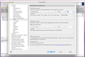 how to change text size how do i change my editor font size in matlab r2014b stack overflow