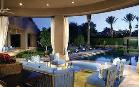 patio with pool. Fine Pool Patio Pool W Waterfall And With G