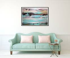colorful wall art abstract art print