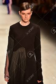 Fashion Design Studio Sydney Sydney Australia 20 May Model Walks On Runway During Ipsen