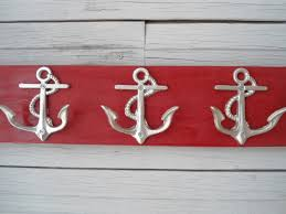 Outdoor Coat Rack For Hot Tub Anchor Towel Hooks Wall Hooks Storage Bathroom Towel Rack Nautical 37