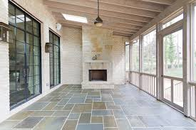 this is an example of a transitional porch design in atlanta