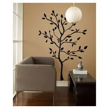 Peel And Stick Wall Decor 19 In Tree Branches Peel And Stick Wall Decals Rmk1317gm The