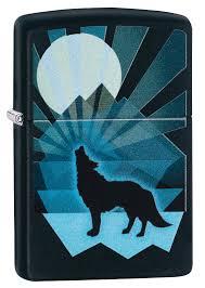 <b>Зажигалка ZIPPO</b> 29864 <b>Wolf</b> and Moon Design