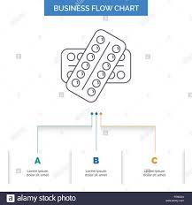 Pill Chart Medicine Pill Drugs Tablet Patient Business Flow Chart