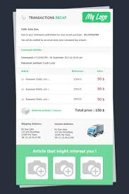 Receipt Email Template Html Email Templates Receipt Spaflora