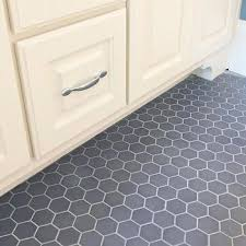 bathroom floor tile grey. gray hex tile bathroom floor grey r