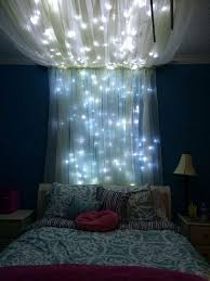 Bed Canopy Ideas for Endearing Best 25 Bed Canopy With Lights Ideas ...