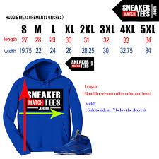 Yeezy Hoodie Size Chart Streetwear T Shirt Size Chart Sneakermatchtees Com