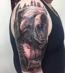 50 Cool Bear Tattoo Design Ideas And Meanings Legitng