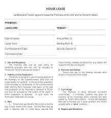 Lease Contract Sample Printable Sample Simple Room Rental Agreement Form Ideas For The