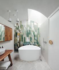 Tile Entire Bathroom 25 Creative Geometric Tile Ideas That Bring Excitement To Your Home