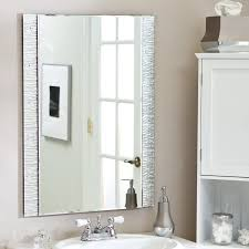 Frameless Mirror For Bathroom Bathroom Bathroom Light Mirror Modern Bathroom Mirrors Mirror