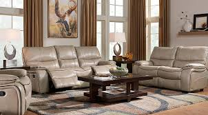Beige Brown Gray Living Room Furniture Decorating Ideas Amazing Leather Couch Living Room Ideas Style