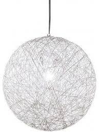the chaos pendant light white