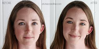 before after make up