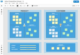 Value Proposition Template Online Value Proposition Canvas Template For Teams 22