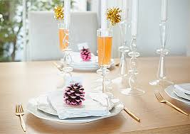 decoration: Captivating Dining Table With Candle Holders And Pine Cone  Decorations Centerpieces Completed With Cup