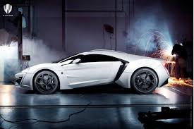 w motors lykan hypersport side