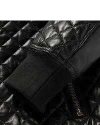 Balmain Quilted Leather Bomber Jacket | Where to buy & how to wear & ... Balmain Quilted Leather Bomber Jacket ... Adamdwight.com