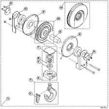 similiar rope block parts keywords verlinde parts vt1 wire rope hoist parts