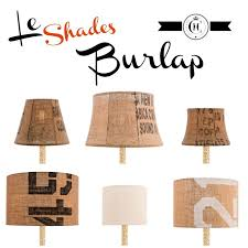 best burlap lamp shades ideas only on redo lamp
