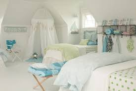beach themed rooms with kids bedding and duvet covers also beadboard ceiling with electric lanterns and open floor plan plus director chair for kids bedroom