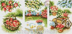 Фотография | Cross stitch fruits, vegetables, food | Вышивка ...