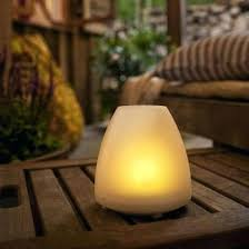 outdoor candle lighting. 6 Ea Four Seasons Black Solar Candle Lantern Pathway Lights With Flickering Led . Outdoor Lighting