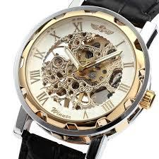 mens hand winding mechanical watch fakurma uk