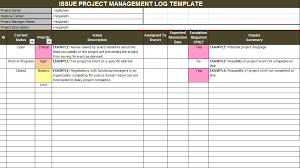 Excel Templates For Project Management Download Issue Project Management Templates Project