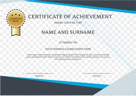 Graduation Ceremony Brand Party English Certificate Template Png
