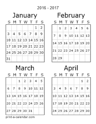 free printable 12 month calendar download 2016 printable calendars