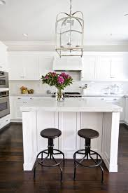 White Kitchen Dark Wood Floors Dark Wood Floors Picmia