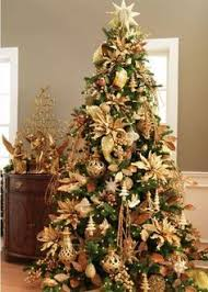 RAZ Once Upon a Holiday Gold Tree. Christmas Decorating ...