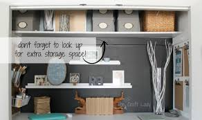 office in a closet design. Office Closet Organizer Remodelaholic Making An Organized Craft Space Image In A Design