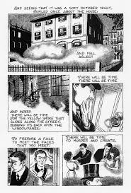 t s eliot comic book poetry the perennial student the love song of j alfred prufrock