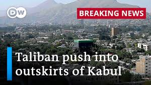 Taliban leaders marched into kabul on sunday, preparing to take full control of afghanistan two decades after they were removed by the u.s. Afghanistan Taliban Push Into Outskirts Of Kabul Dw News Youtube