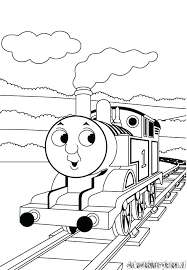 Thomas The Tank Engine Colouring Pages At Getcoloringscom Free