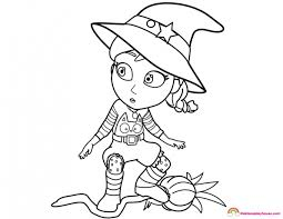 The Witch I Want To Be Vampirina Coloring Page Rainbow Playhouse
